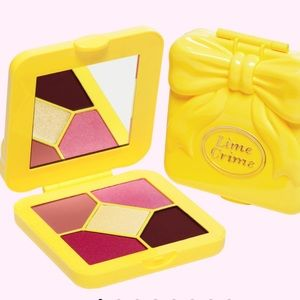 Pink Lemonade Lime Crime Shadow Palette
